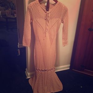 VENUS blush pink sweater dress